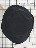 זול כובעים אופנתיים-שחור כובע שמש כותנה סתיו יום יומי