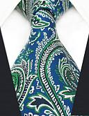 olcso Férfi nyakkendők és csokornyakkendők-Férfi Színes / Paisley / Jacquardszövet Party / Munkahelyi - Nyakkendő