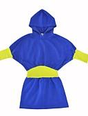 זול חולצות לגברים-סט של בגדים כותנה אביב סתיו שרוול ארוך יומי חגים אחיד בנות פעיל ורוד מסמיק כחול ים