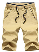 cheap Men's Sweaters & Cardigans-Men's Street chic Shorts Pants - Solid Colored