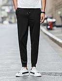 זול מכנסיים ושורטים לגברים-בגדי ריקוד גברים כותנה פשתן הארם מכנסיים אחיד