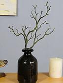 billige Gaveesker-Kunstige blomster 1 Gren Enkel Stil Planter Bordblomst