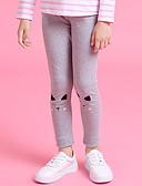 cheap Girls' Dresses-Geometric Girl's Daily Polyester Spring Dress Vintage Blushing Pink Gray