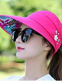 رخيصةأون قبعات نسائية-قبعة شمسية لون سادة نسائي - مطرز / الصيف