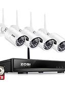 זול עליוניות לנשים-zosi ® 4ch 1080p hdmi wifi nvr 2.0mp מערכת אבטחה ir בחוץ wctproof מצלמה cctv אלחוטית מערכת מעקב