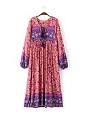 tanie Sukienki-Damskie Bawełna Spodnie - Solidne kolory Pofałdowany Czerwony