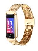 billige Sportsklokke-Herre Dame Hverdagsklokke Moteklokke Digital Watch Digital Svart / Sølv / Gylden Vannavvisende Bluetooth Kalender Digital Luksus Mote - Gull Svart Sølv