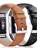 tanie Męskie koszulki polo-Watch Band na Fitbit Charge 2 Fitbit Klasyczna klamra Skóra Opaska na nadgarstek