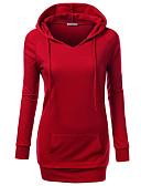cheap Women's Hoodies & Sweatshirts-Women's Active Hoodie - Solid Colored