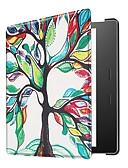 tanie Sukienki-Kılıf Na BLU Kindle Oasis 2 (2. generacja, wydanie 2017) Ultra cienkie Pełne etui Wzór geometryczny / Wieża Eiffla / Sowa Twardość Skóra PU na Kindle Oasis 2 (2. generacja, wydanie 2017)