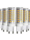 billige Korsetter og bysteholdere-YWXLIGHT® 6pcs 9W 750-850lm G9 LED-lamper med G-sokkel T 76 LED perler SMD 2835 Mulighet for demping Varm hvit Kjølig hvit Naturlig hvit