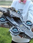 billige Truser-Helicarrier Byggeklosser Militære blokker 3057 pcs Superhelter Soldier Focus Toy utsøkt Hangarskip Gutt Jente Leketøy Gave