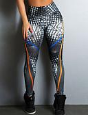 ieftine Leggings-Pentru femei - Geometric, Imprimeu Sport Legging