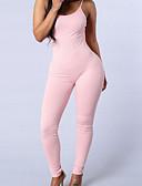 voordelige Dames jumpsuits & rompers-Dames Jumpsuit - Sporten, Blote rug Kruiselings Print Bandje