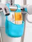 ieftine organizarea băii-Cârlige Multifuncțional Uşor de Folosit Novelty Depozitare Detașabil Creative De Bază Plastic PVC organizarea băii Alte accesorii pentru
