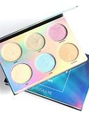 povoljno Ženske kaputi od kože i umjetne kože-6 boja Highlighteri i bronzeri Flomasteri za isticanje Shimmer Kina Šminka Kozmetički