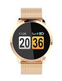 tanie Kwarcowy-Inteligentny zegarek Q8 na Android iOS Bluetooth Pulsometry Spalonych kalorii Rejestr ćwiczeń Powiadamianie o połączeniu telefonicznym Kontrola APP Krokomierz Powiadamianie o połączeniu telefonicznym
