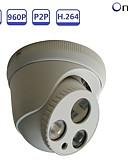 tanie Koszulki i tank topy męskie-STRONGSHINE ST-POEP1325D03R 1.3 mp Kamera IP w pomieszczeniach Wsparcie sol / Kopuła / Przewodowa / CMOS / 50 / 60
