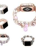 abordables Biquinis y Bañadores para Mujer-Ver Banda para Apple Watch Series 3 / 2 / 1 Apple Diseño de la joyería Cerámica Correa de Muñeca
