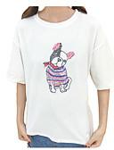 preiswerte T-Shirt-Damen Solide Baumwolle T-shirt Gefaltet