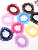 cheap Ice Skating Dresses , Pants & Jackets-Elastics & Ties Hair Accessories Bonded Cotton Cloth Satin Wigs Accessories Women's 10pcs pcs 1-4inch cm Daily Boutique Stylish Cute