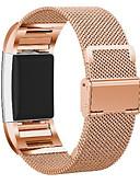 hesapli Smartwatch Bantları-Watch Band için Fitbit Charge 2 Fitbit Milan Döngüsü Paslanmaz Çelik Bilek Askısı