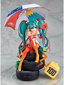 preiswerte Kleider für Junior-Brautjungfern-Anime Action-Figuren Inspiriert von Vocaloid Schnee Miku 2018 PVC CM Modell Spielzeug Puppe Spielzeug Herrn Damen