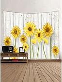 ieftine Curele la Modă-Temă Grădină Peisaj Wall Decor 100% Poliester Contemporan Anul Nou Wall Art, Tapiserii de perete Decor