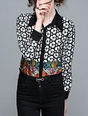 זול חולצה-גיאומטרי בסיסי חולצה - בגדי ריקוד נשים דפוס