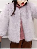 halpa Poikien vaatteet-Tyttöjen Yhtenäinen Pusero Akryyli Talvi Pitkähihainen Yksinkertainen Musta Rubiini Punastuvan vaaleanpunainen Vaaleanharmaa