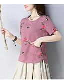 povoljno Majica s rukavima-Majica s rukavima Žene - Osnovni Dnevno Geometrijski oblici Print