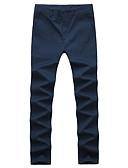ieftine Maieu & Tricouri Bărbați-Bărbați Activ Pantaloni Chinos Pantaloni Mată