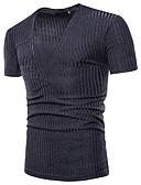 ieftine Maieu & Tricouri Bărbați-Bărbați Tricou Activ / De Bază - Mată / Dungi