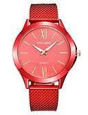 ieftine Quartz-Pentru femei Ceas Elegant Quartz 30 m Cronograf PU Bandă Analog Modă Roșu - Cafea Rosu Albastru Un an Durată de Viaţă Baterie / Oțel inoxidabil / SSUO LR626