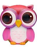 זול שמלות נשים-צעצוע מעיכה / מקל מתחים ינשוף Office צעצועים במשרד / צעצועים לחץ לחץ דם Others 1pcs לילדים כל מתנות