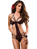 cheap Women's Nightwear-Women's Suits Nightwear - Mesh, Jacquard
