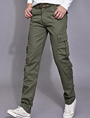cheap Women's Skirts-Men's Simple Loose Chinos Pants - Solid Colored Basic