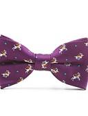 cheap Men's Ties & Bow Ties-Unisex Cute Basic Bow Tie - Print