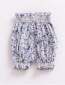povoljno Hlačice za bebe-Dijete Uniseks Osnovni Jednobojni Kratke hlače Blushing Pink / Dijete koje je tek prohodalo