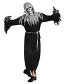 preiswerte Damen Nachtwäsche-Skelett / Totenkopf / Geist Austattungen Unisex Halloween / Karneval / Tag der Toten Fest / Feiertage Halloween Kostüme Schwarz Solide /