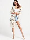 זול שמלות נשים-אחיד הגלימה / שכמיות - בגדי ריקוד נשים כותנה / קיץ