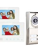 preiswerte Damen Nachtwäsche-MOUNTAINONE SY811WMC12 Two Apartment Family Video Door Phone Freisprechanlage 480*234Pixel Ein bis zwei Video-Türsprechanlage