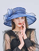 cheap Fashion Hats-Women's Basic / Holiday Sun Hat - Solid Colored Mesh