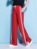 ieftine Pantaloni de Damă-Pentru femei Activ / Șic Stradă Picior Larg / Pantaloni Sport Pantaloni Dungi
