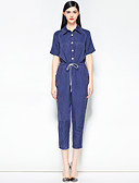cheap Women's Jumpsuits & Rompers-Mary Yan & Yu Women's Basic Street chic Jumpsuit - Solid Colored