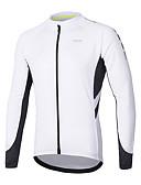 cheap Men's Pants & Shorts-Arsuxeo Men's Long Sleeve Cycling Jersey - Dark Grey / Blue / Grey Bike Jersey, Reflective Strips Polyester / SBS Zipper