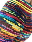 ieftine Leggings-Pentru femei De Bază Legging - Curcubeu Talie medie