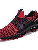 abordables Camisetas y Tops de Hombre-Hombre Goma Verano Confort Zapatillas de Atletismo Paseo Blanco / Negro / Rojo