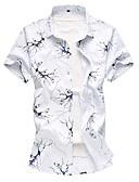 povoljno Muške košulje-Majica Muškarci - Osnovni Dnevno Cvjetni print