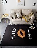 halpa Cocktail-mekot-Area mattoja Moderni Flannelette, Suorakulma Huippulaatua Matto / Latex Non Skid